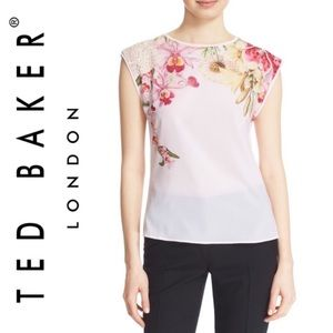 Ted Baker London 'Catlee' Floral Print Tank